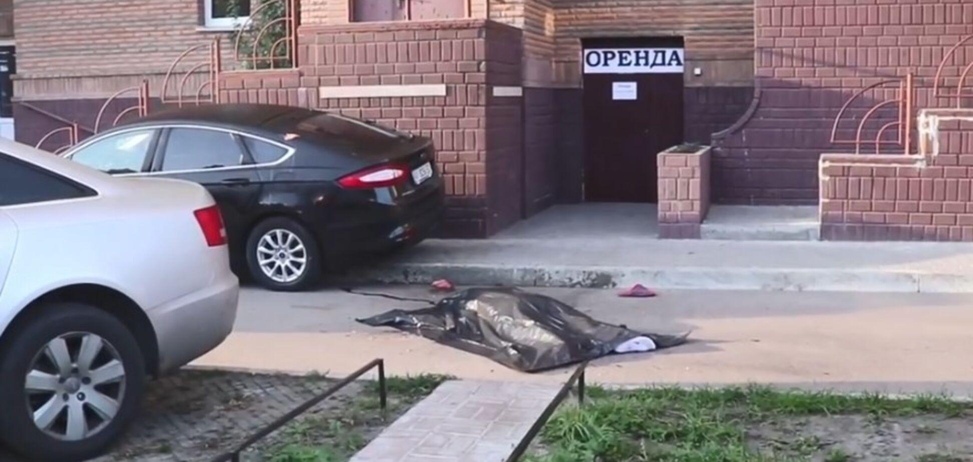 Залишив телефон і пляшку віскі: у Києві хлопець вистрибнув із багатоповерхівки