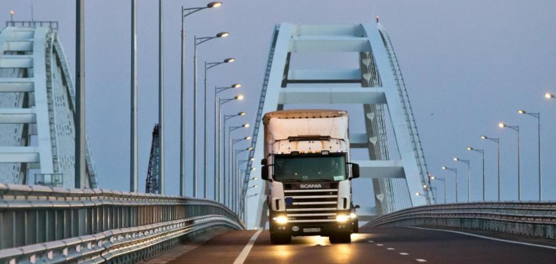 ''Все буде дорожчати'': окупанти визнали непотрібність Кримського мосту