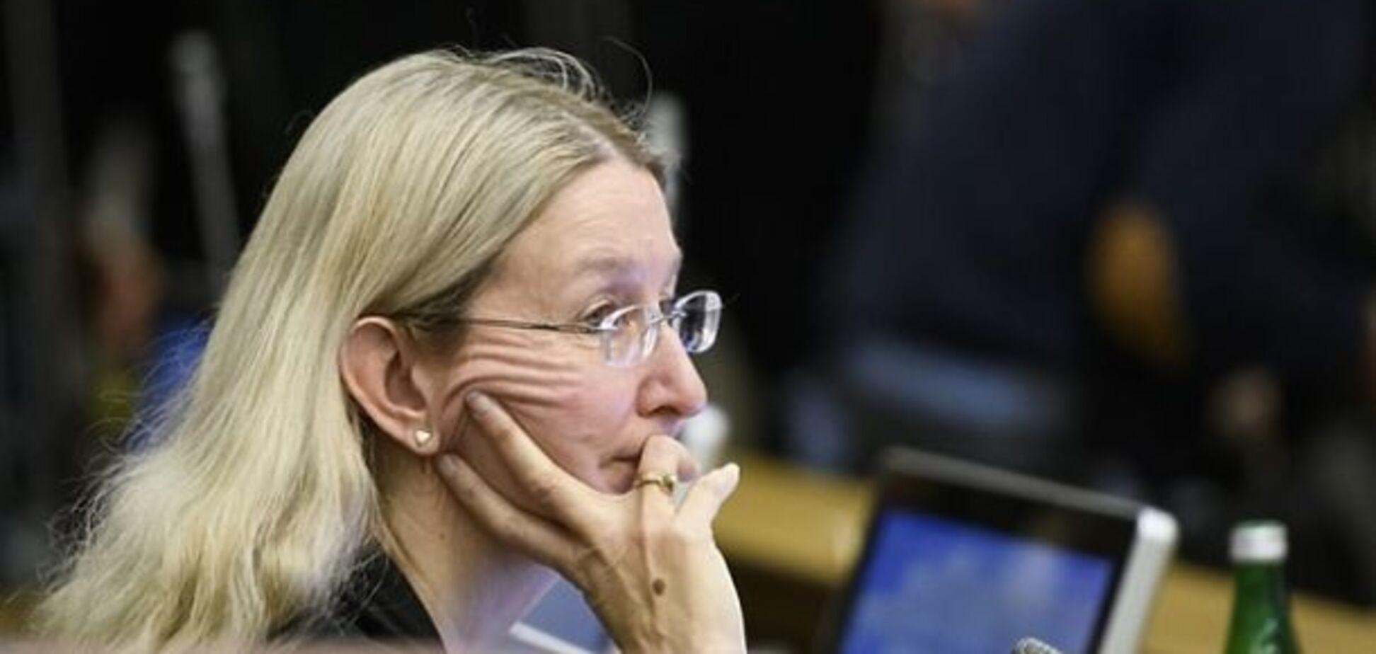 Одноголосно: у Раді підтримали звільнення Супрун та її скандального заступника