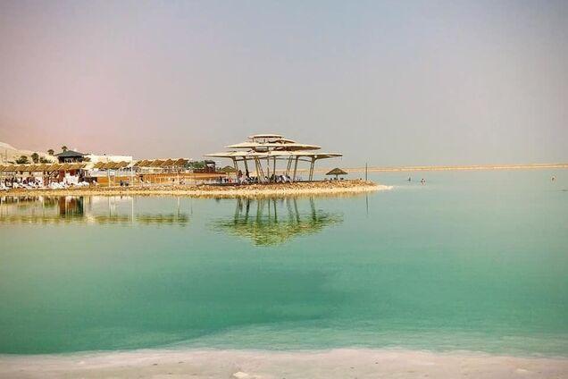 В сети появились завораживающие фото Мертвого моря