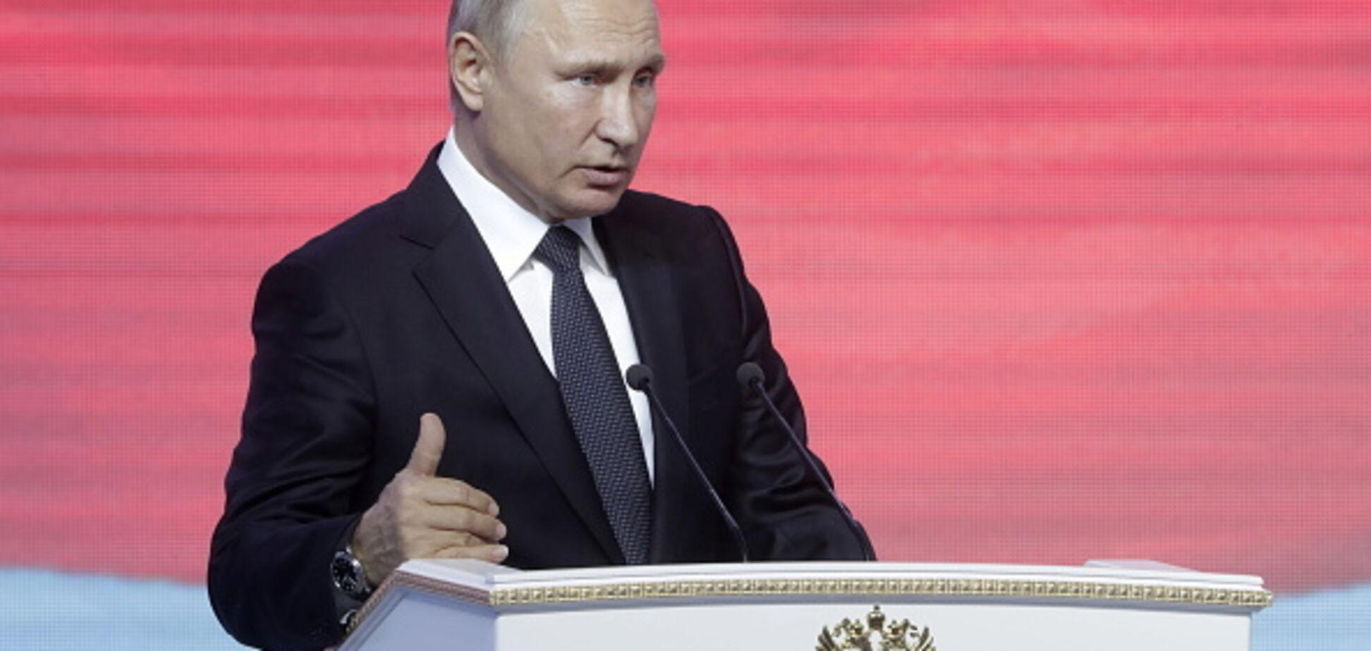 Ядерное вознесение: угрозы Путина высмеяли в карикатуре
