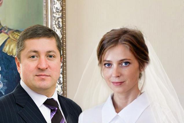 ''На троечку с минусом'': новоиспеченный муж Няши-Поклонской разгромил собственную свадьбу