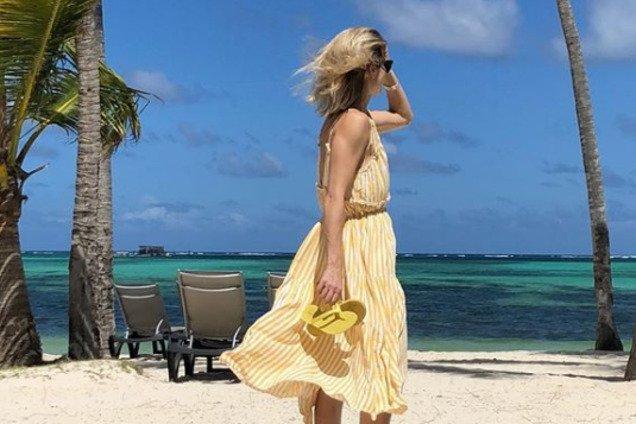 ''Наконец-то рай'': участница ''Танців з зірками'' показала, где отдыхает