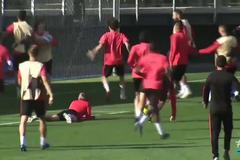 Капітан 'Реала' відзначився дикою витівкою на тренуванні - відеофакт