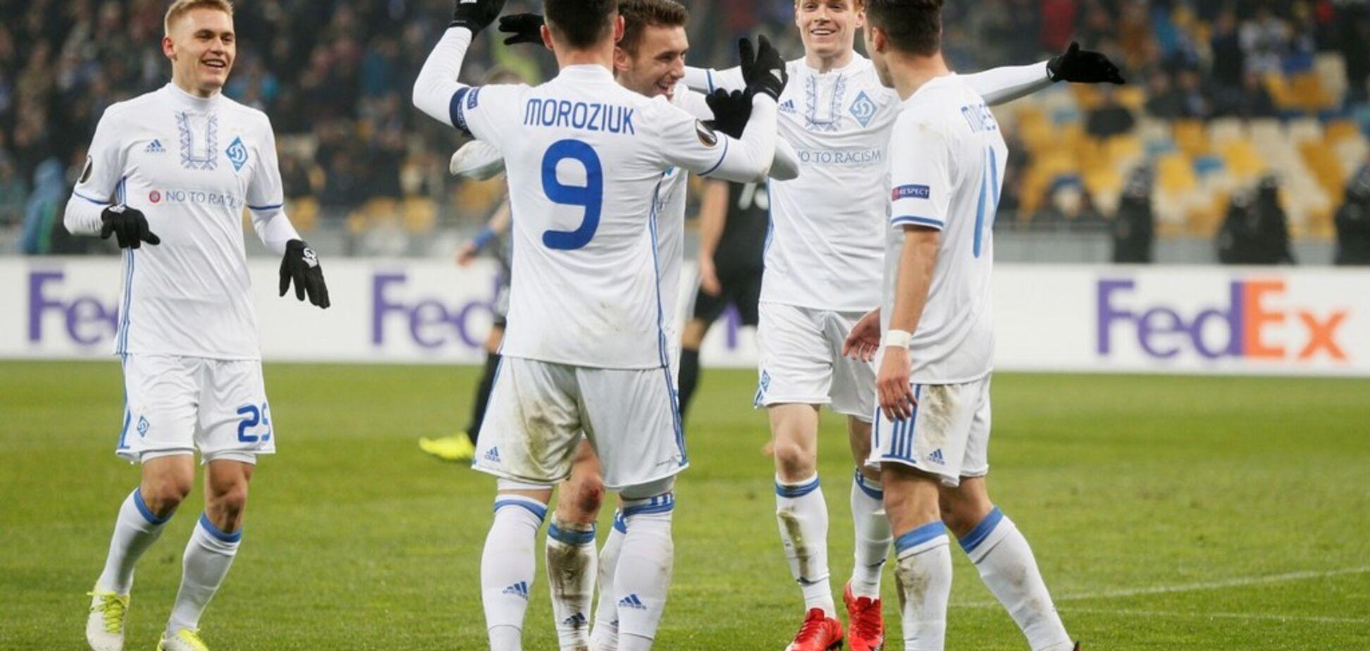 Ренн — Динамо: де сьогодні дивитися онлайн матч Ліги Європи