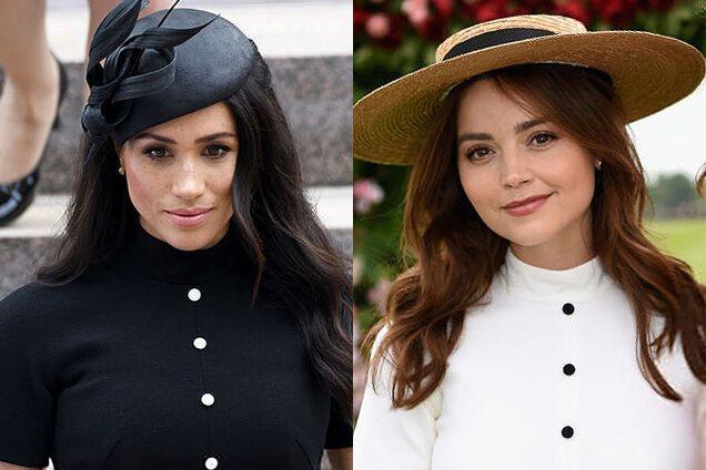 Меган Маркл и бывшая принца Гарри вышли в свет в одинаковых платьях