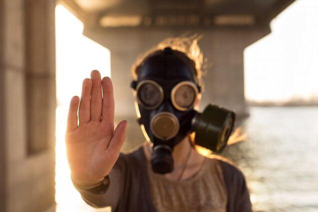Ілюстрація. Забруднене повітря