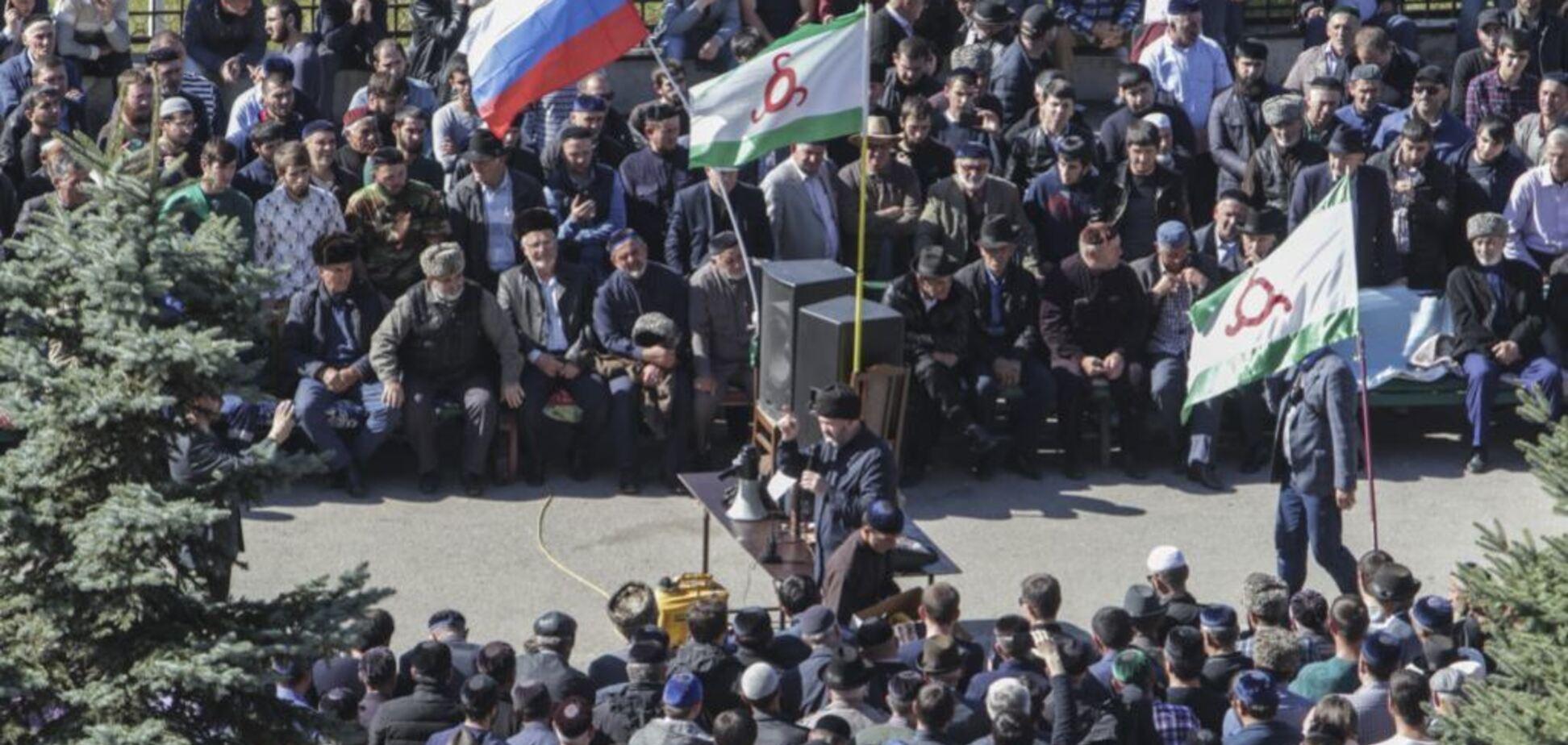 Протесты на Кавказе: уходим с боями, пылают станицы