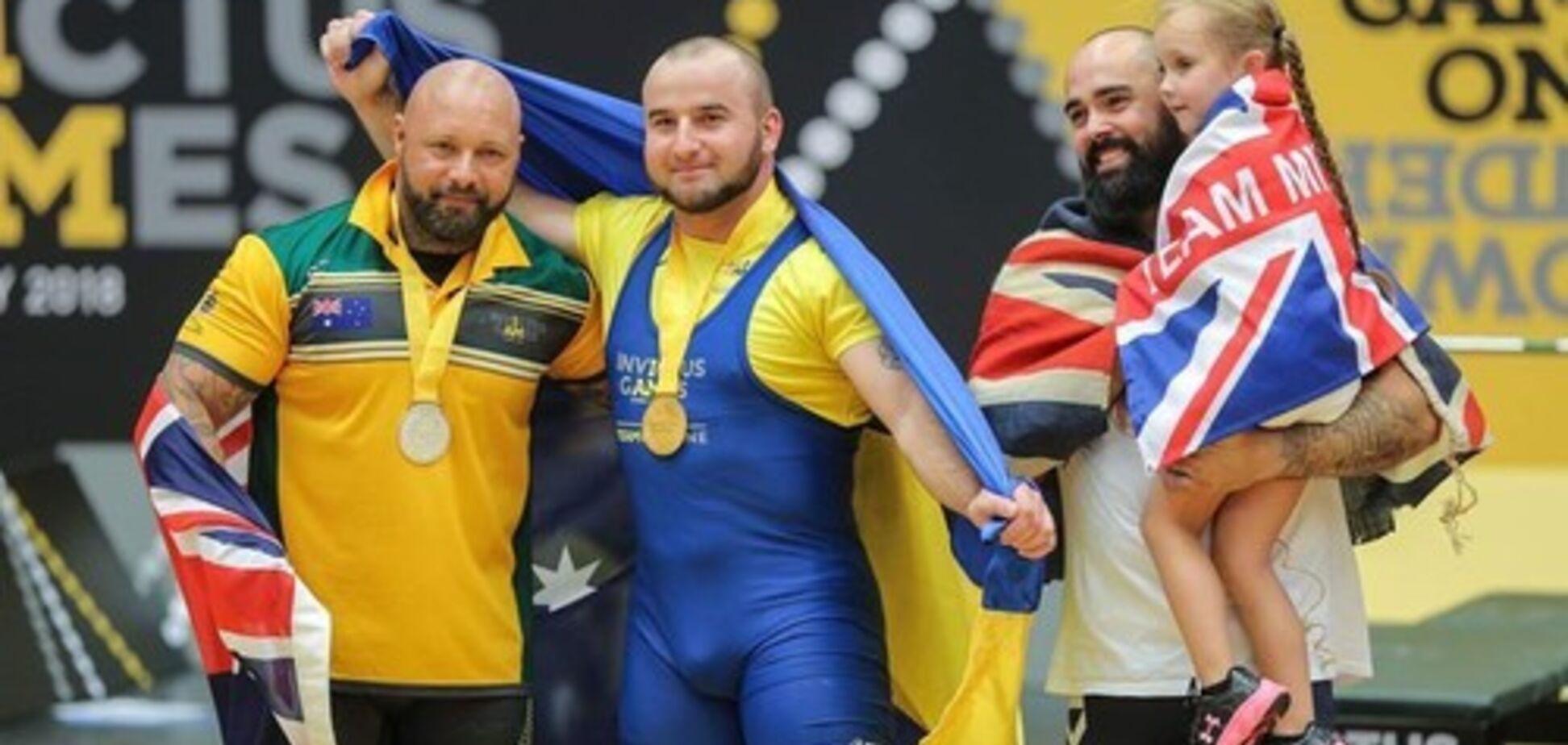 Україна завойовує третє 'золото' на 'Іграх нескорених'