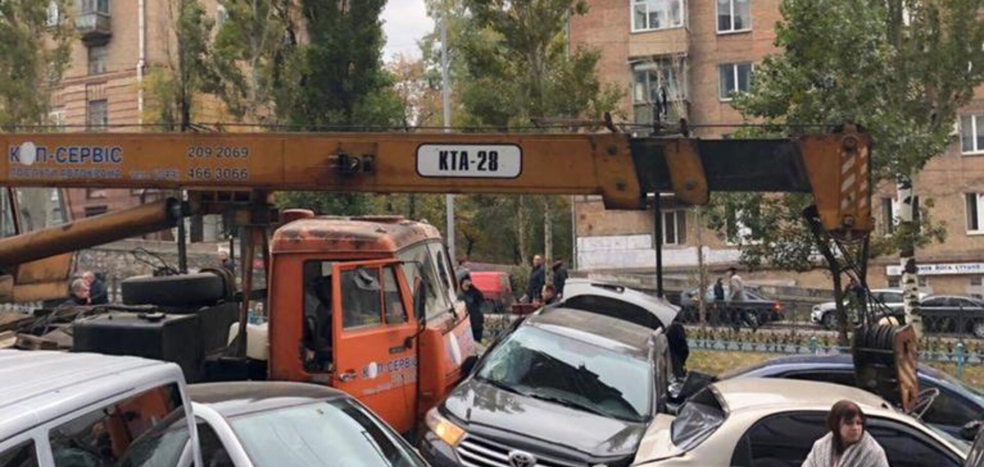 Масштабное ДТП в центре Киева: названо точное количество пострадавших
