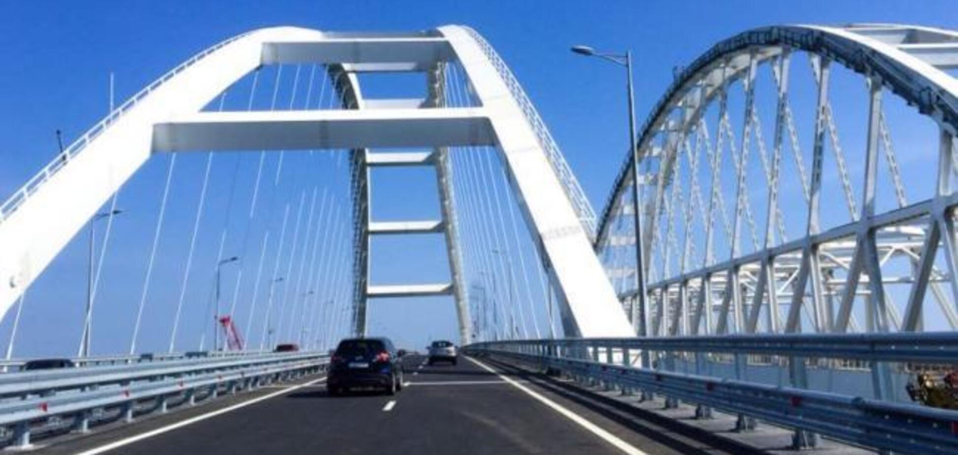 Діставали з моря: скандал із розвалом Кримського мосту отримав продовження