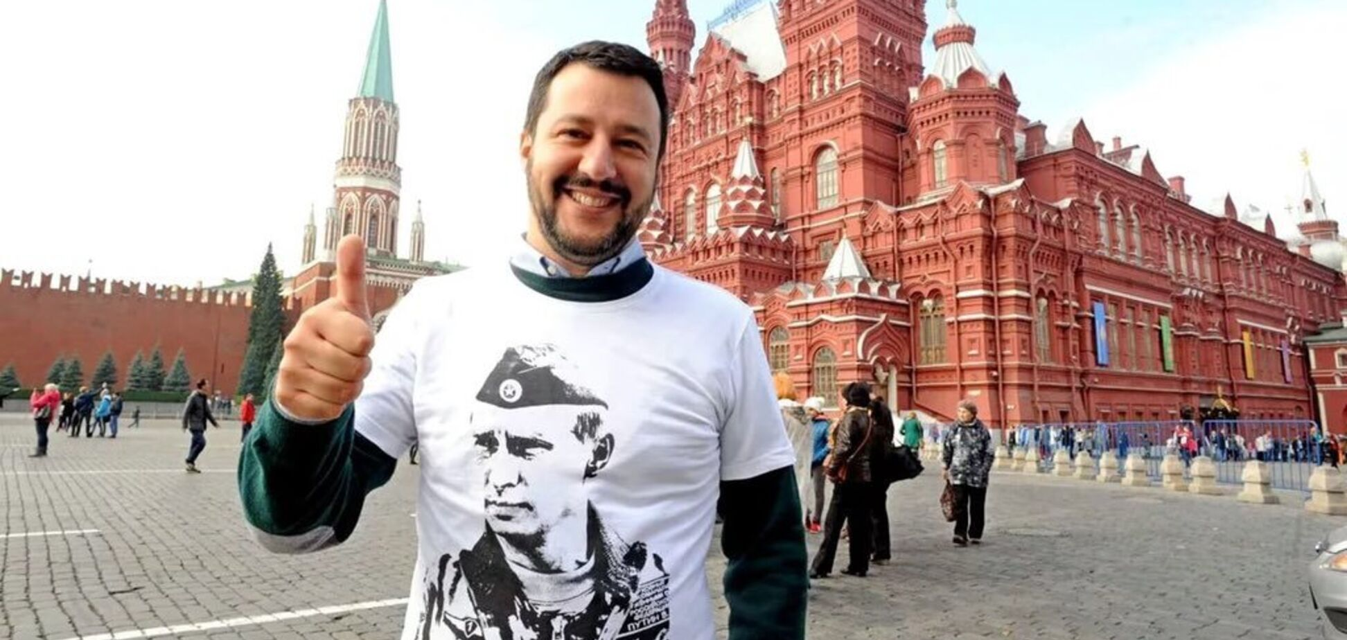 'Ескалатор зроблений українцями': росіяни образилися на італійського друга Путіна через 'п'яниць'