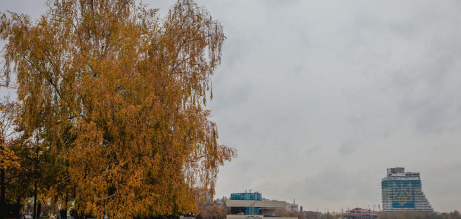 Днепр в контрастах: опубликованы волшебные фото осеннего города