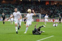 'Карабах' - 'Ворскла': обзор матча