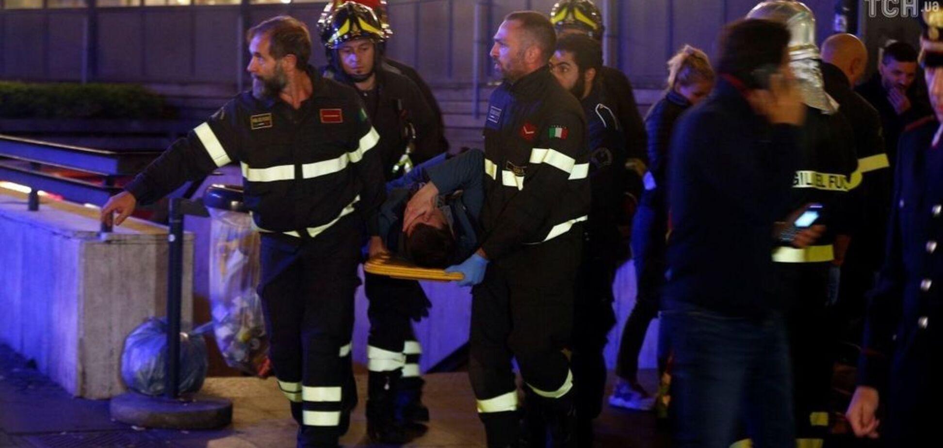 Кровавое месиво в Риме: появилось шокирующее видео от первого лица