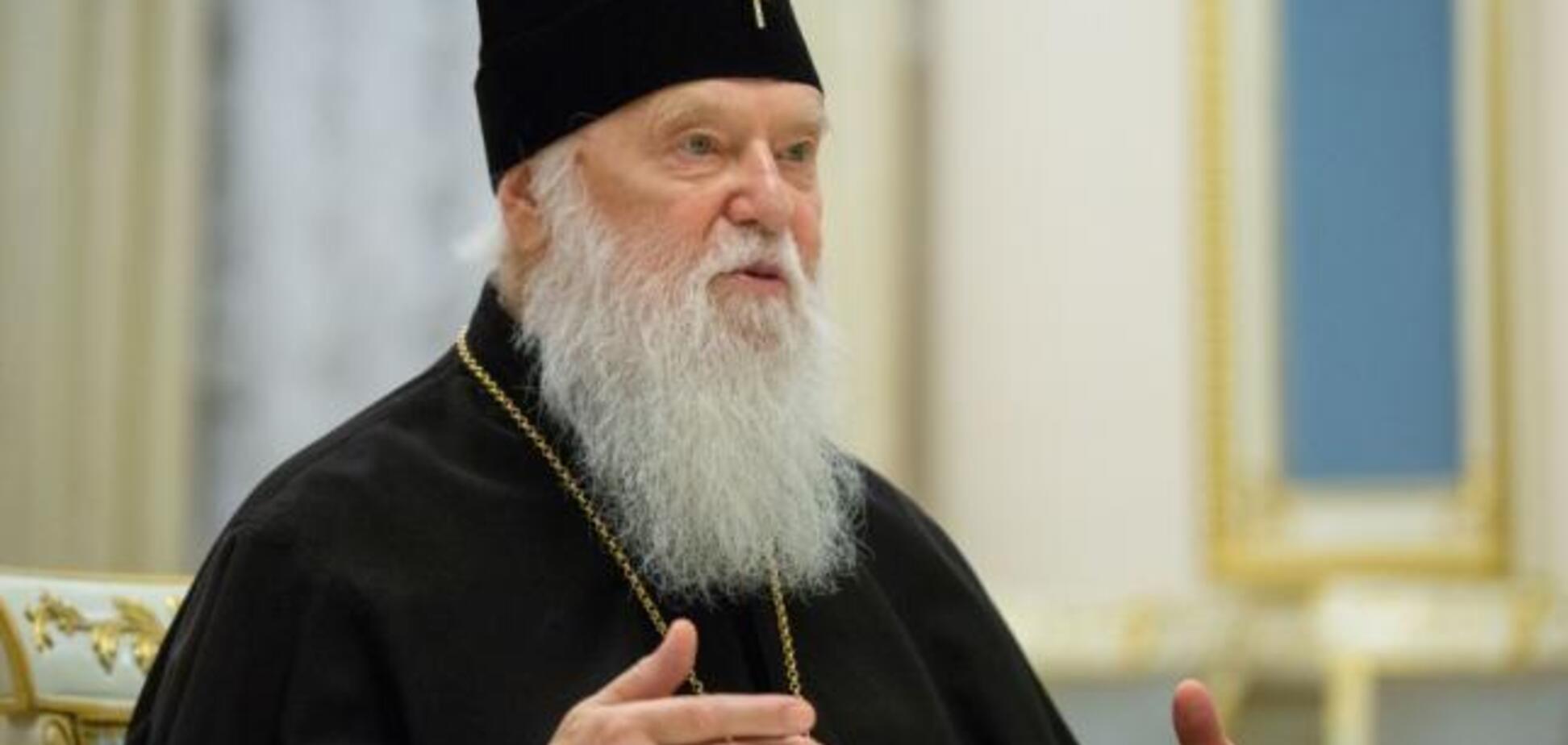 Не патріарх: Філарет пояснив, хто очолить єдину УПЦ після Томосу