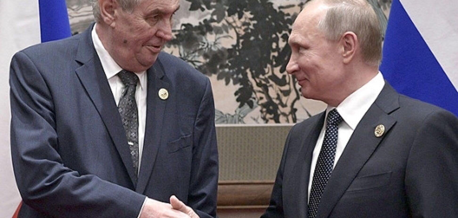 ''Продайте Крим!'' Чеського друга Путіна взяли на сміх