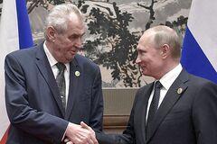 ''Продайте Крым!'' Чешского друга Путина подняли на смех