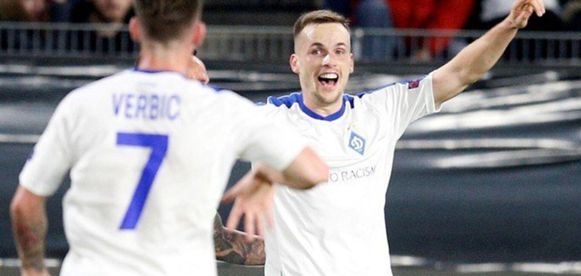 'Динамо' у меншості вирвало перемогу в Лізі Європи