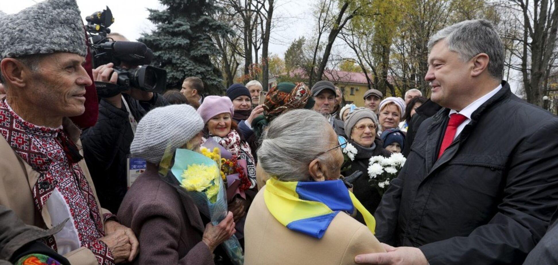 ''Рассчитывайте на нас!'' Порошенко предупредил Беларусь об угрозе из России