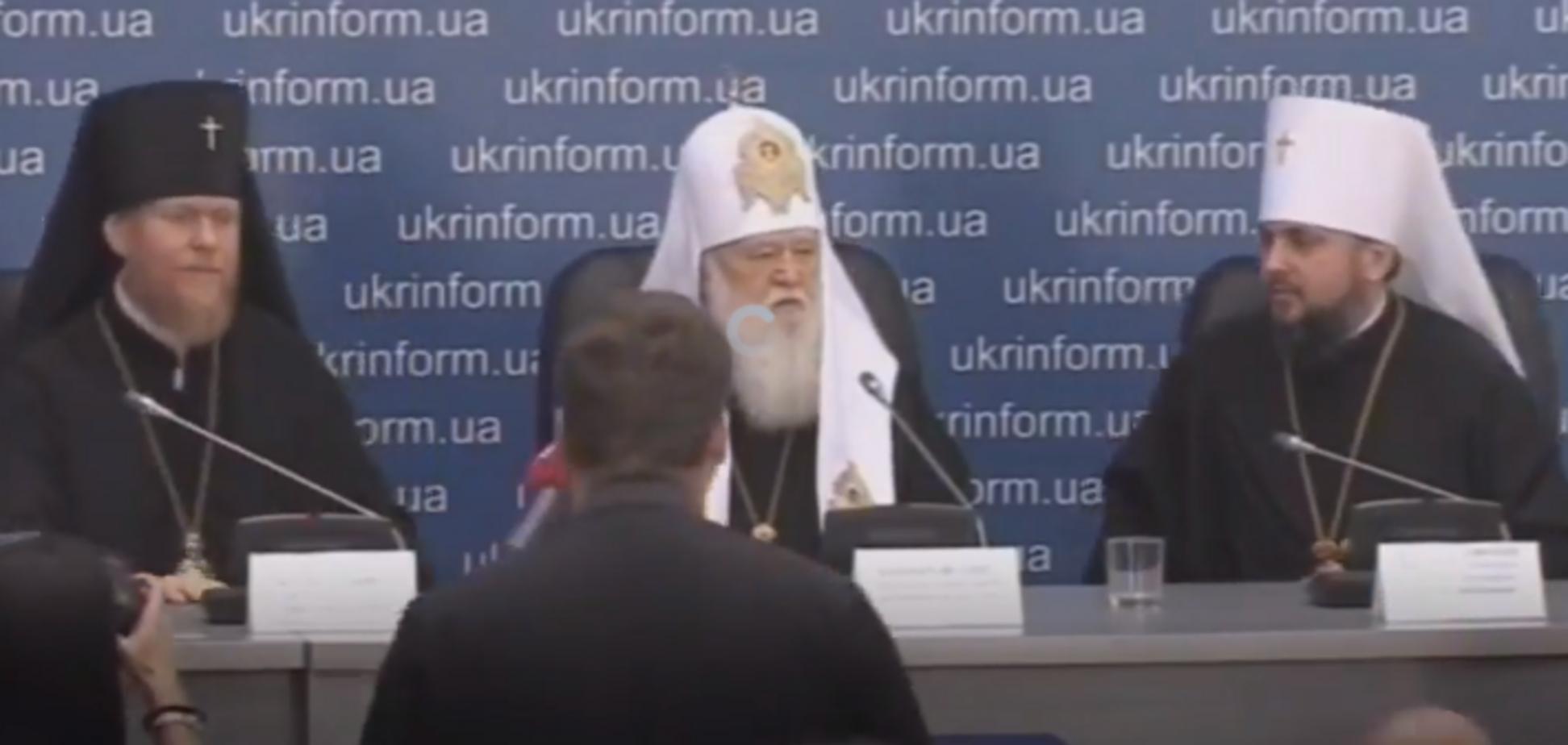 Єдина церква: Філарет пояснив, що буде з Лаврами і храмами Московського патріархату