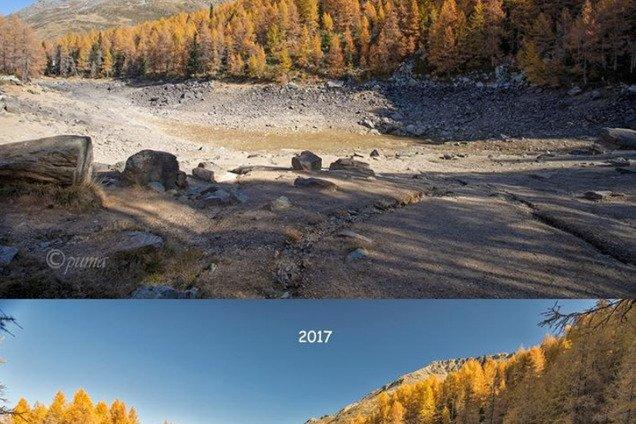 Итальянское озеро исчезло с лица земли: подробности