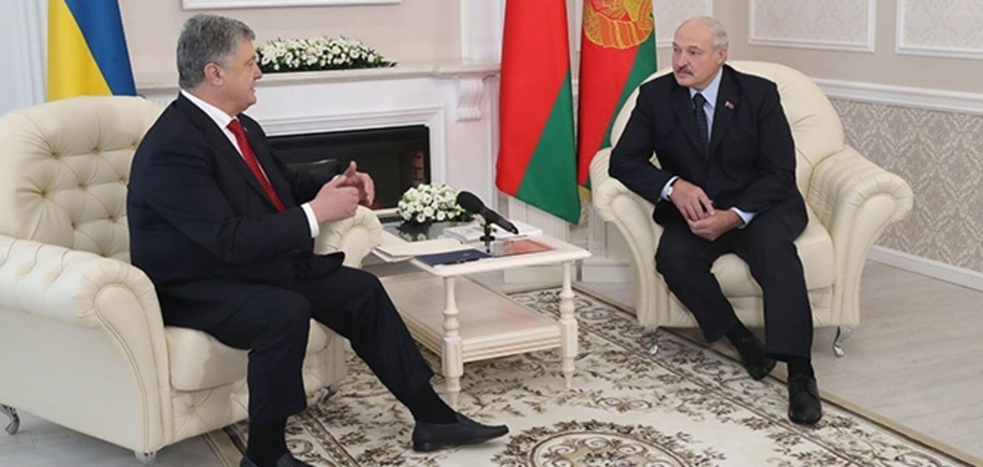 В Беларуси Порошенко ''официально'' назвали президентом России