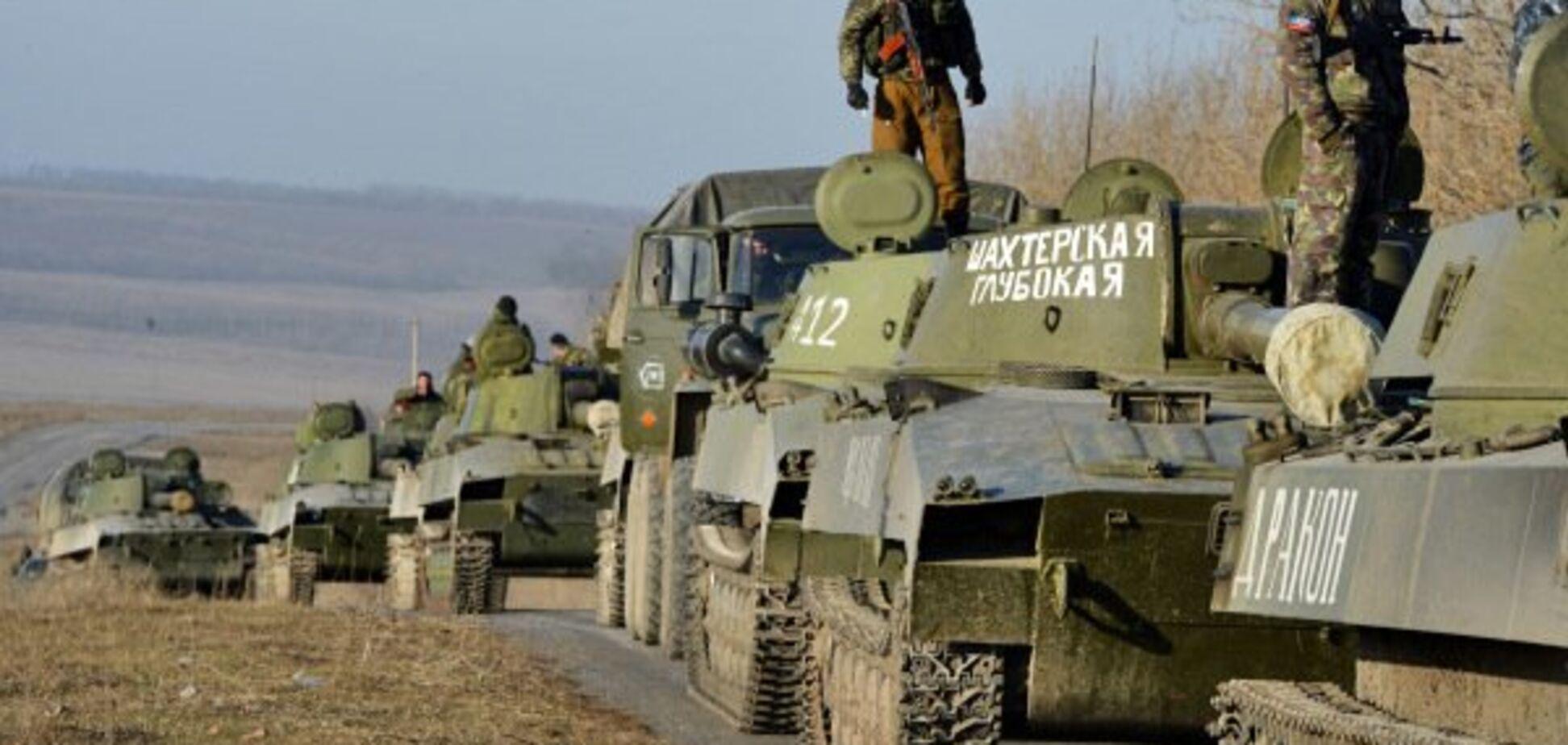 Росія таємно перекинула військову техніку на Донбас: що відбувається