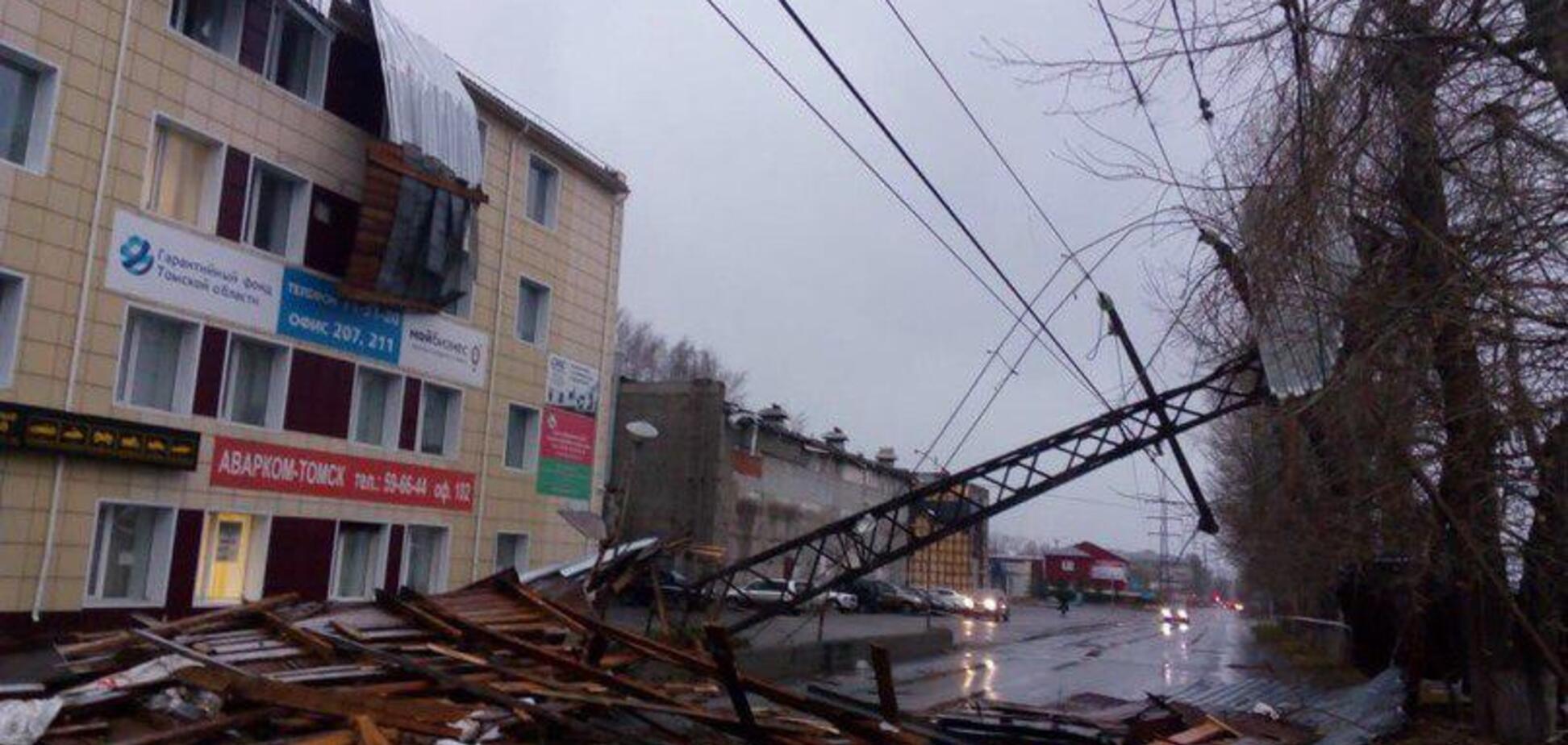 По Росії пронісся страшний ураган: опубліковані фото