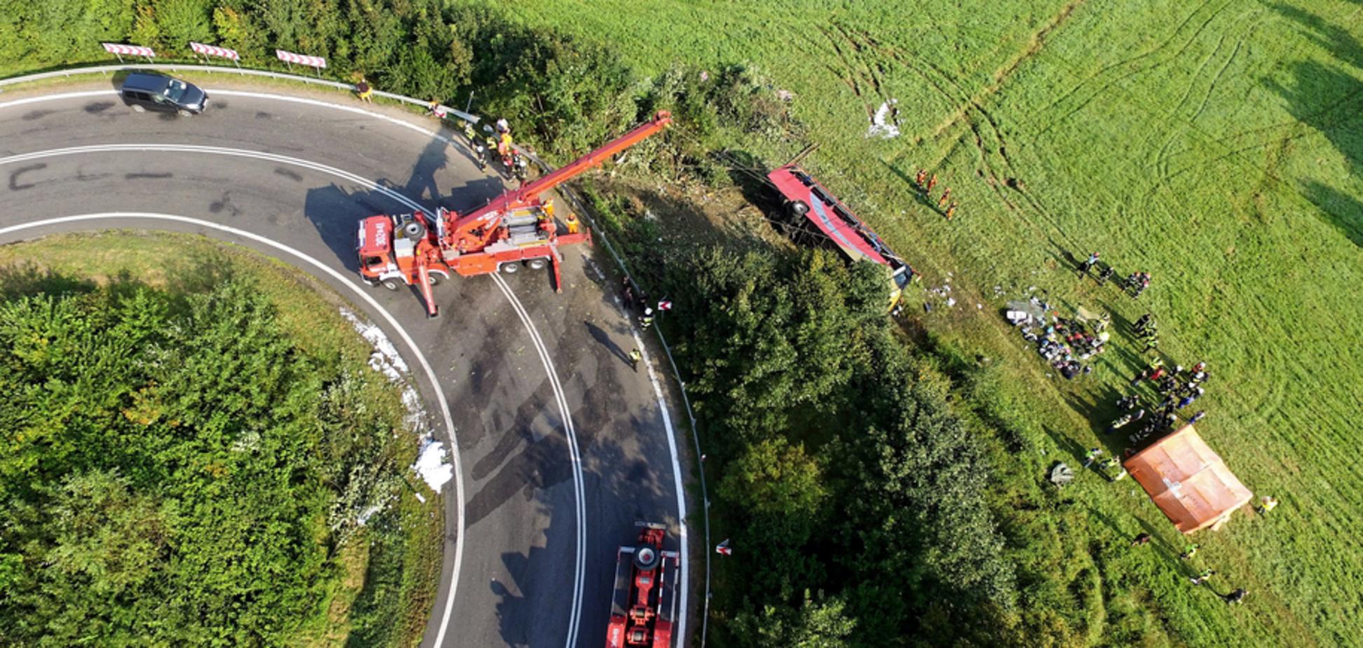 Смертельное ДТП с украинским автобусом в Польше: в крови водителя нашли наркотики