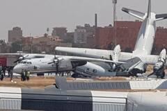 В Судане столкнулись украинские самолеты: фото и видео ЧП