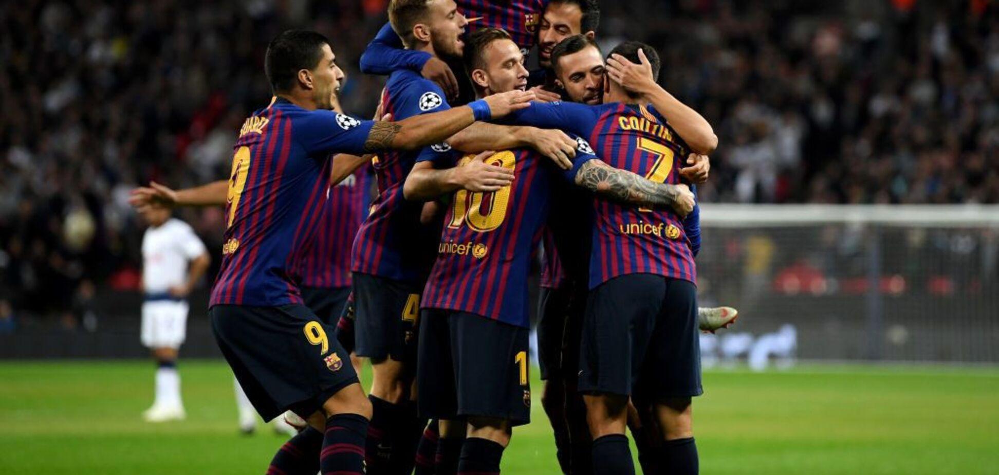 Дикий ляп воротаря 'Тоттенхема' подарував гол 'Барселоні'