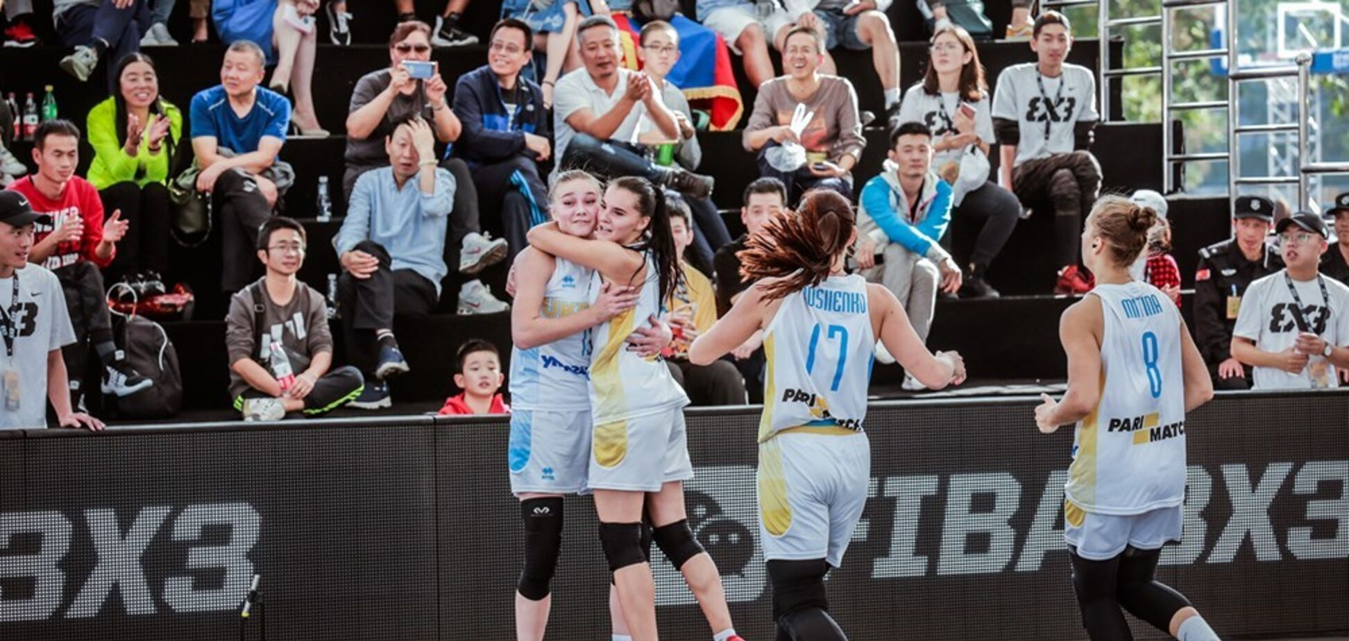 Как украинки победно стартовали на КМ U-23 по баскетболу 3х3: видео