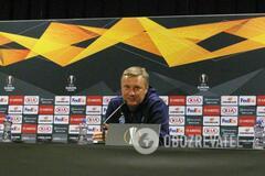 ''Давайте определимся'': Хацкевич высказался о предстоящей игре 'Динамо' в Лиге Европы