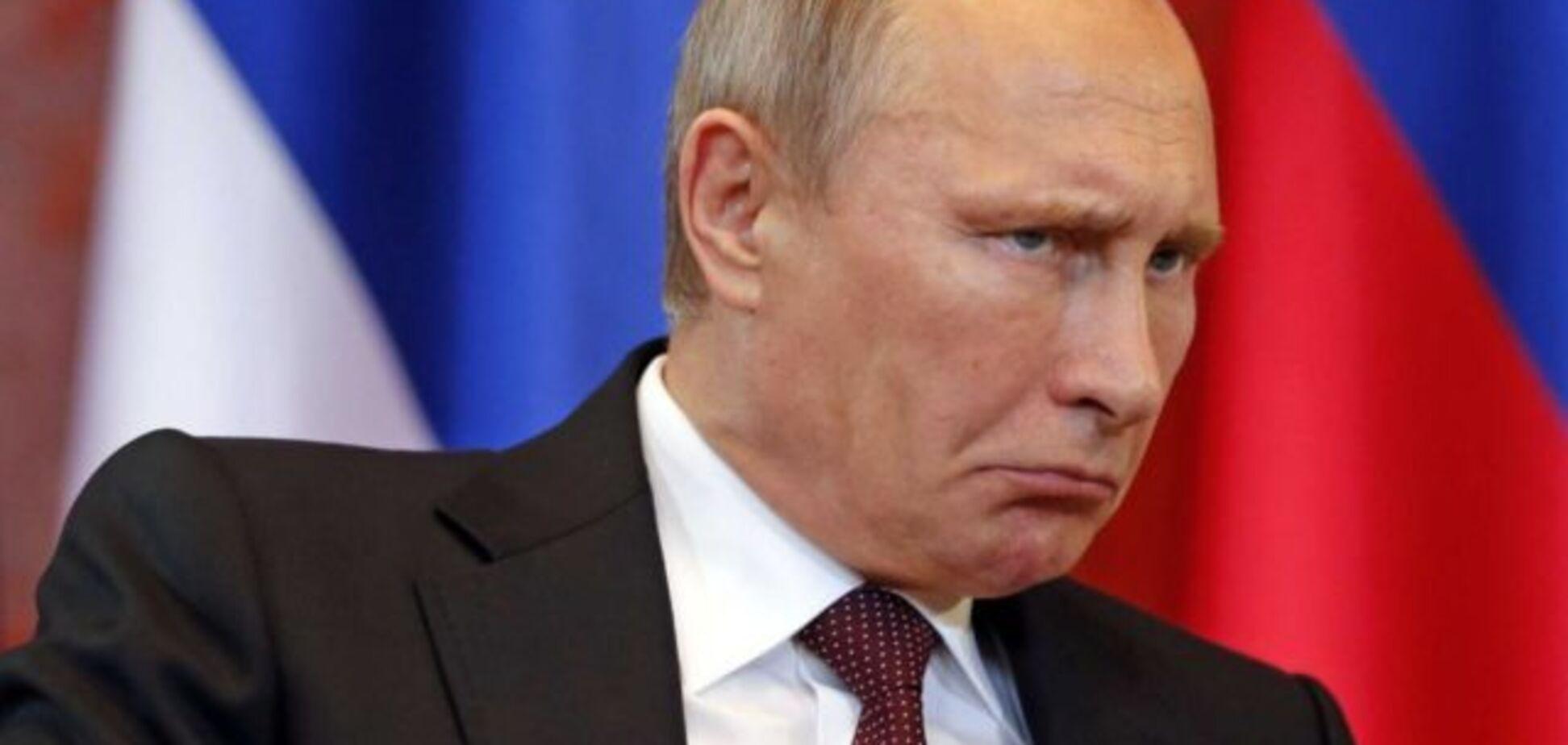 ''Ведро на руке'': в сети подметили оптическую иллюзию с Путиным