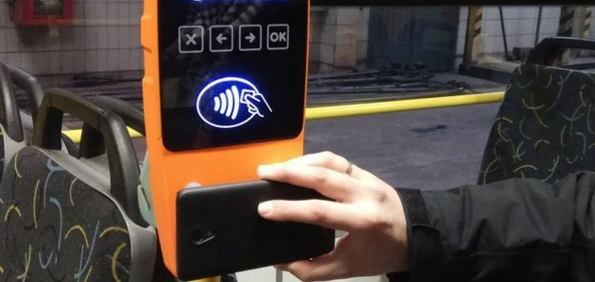 У Києві перевели транспорт на е-квитки завчасно