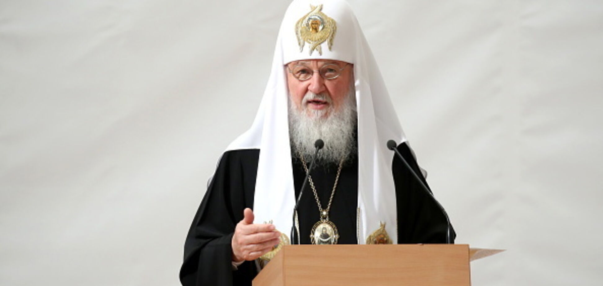 ''РПЦ хотят уничтожить'': патриарх Кирилл заявил о ''глобальной угрозе''