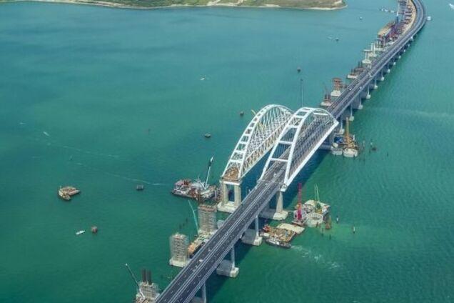 На Крымском мосту произошло новое ЧП