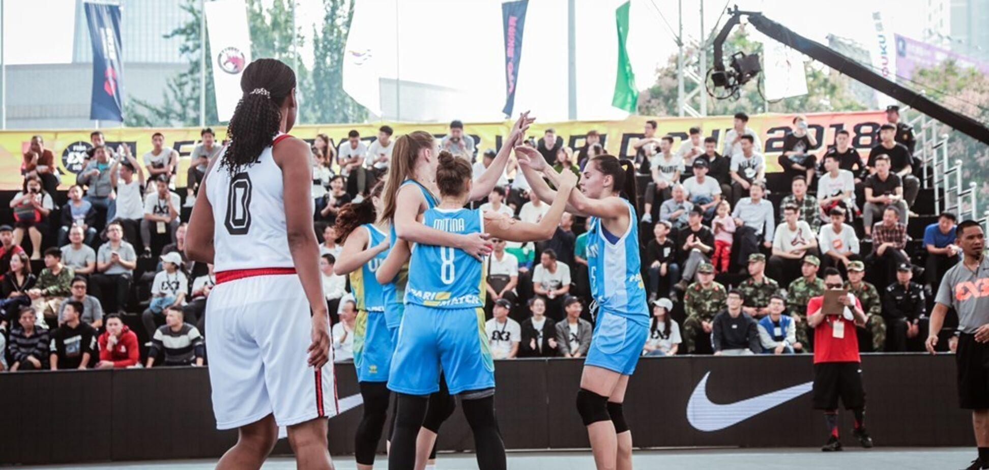 Українки вийшли до чвертьфіналу молодіжного КС з баскетболу 3х3