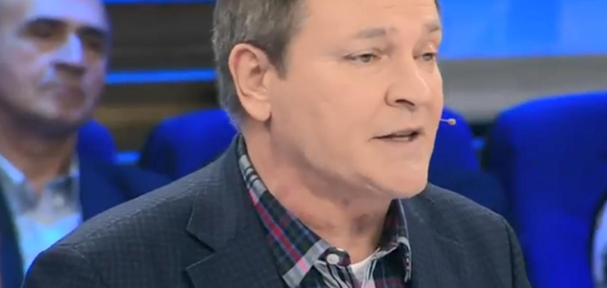 Скандальний Колесніченко сплив на КремльТБ зі скаргами на утиски російськомовних