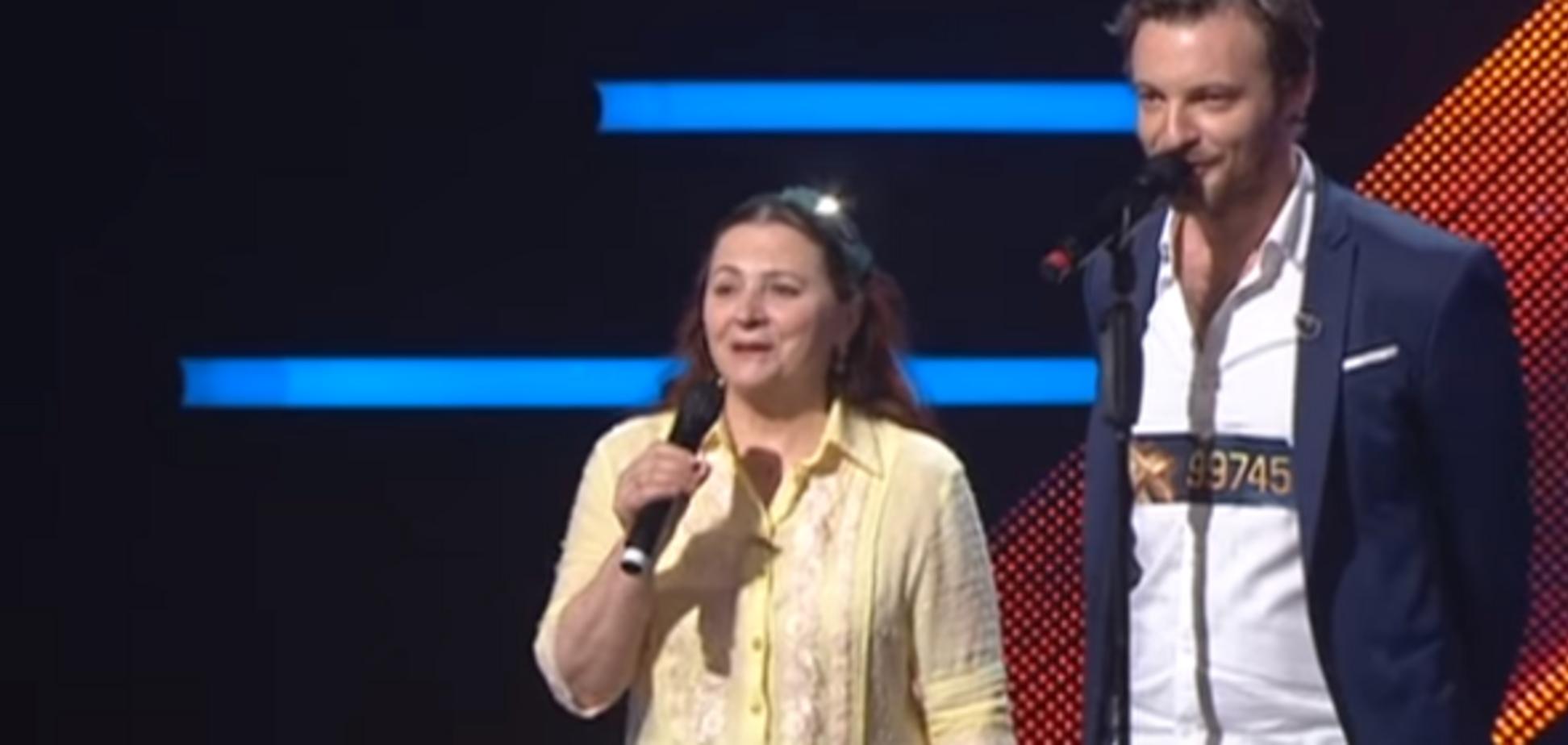 'Х-Фактор-9': на сцені кастингу з'явилася легендарна співачка