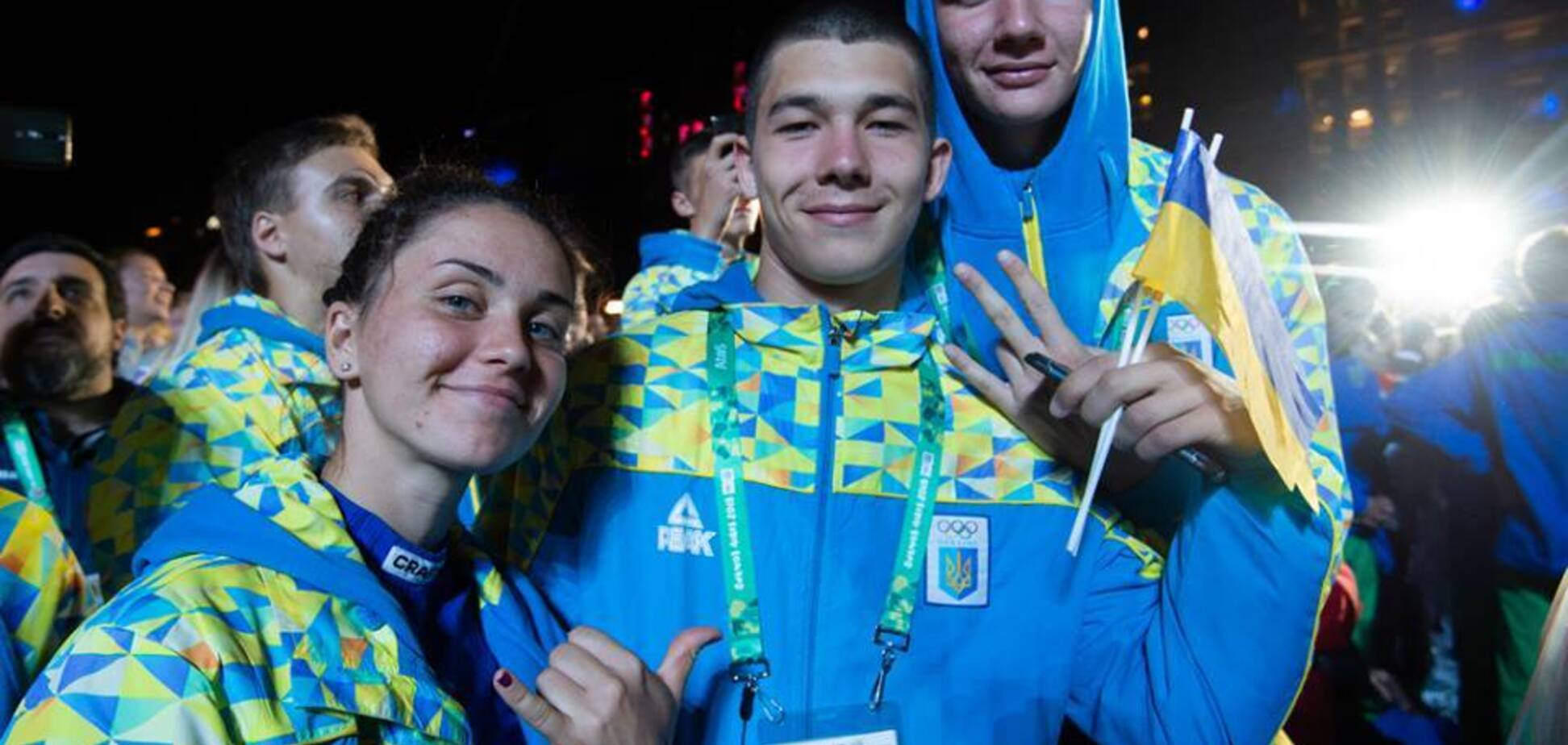Состоялась церемония открытия III Юношеской Олимпиады