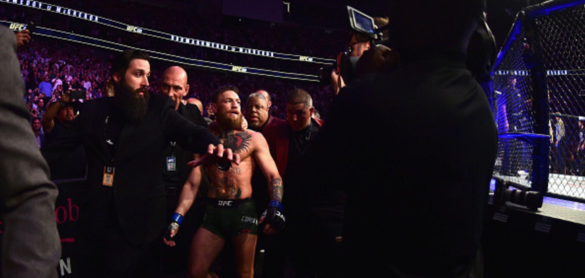 Русского бойца выгонят из UFC за нападение на МакГрегора