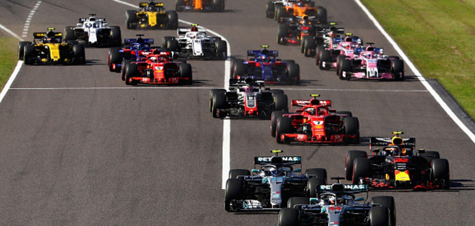 Формула-1: Феттель влаштував зіткнення на Гран-прі Японії