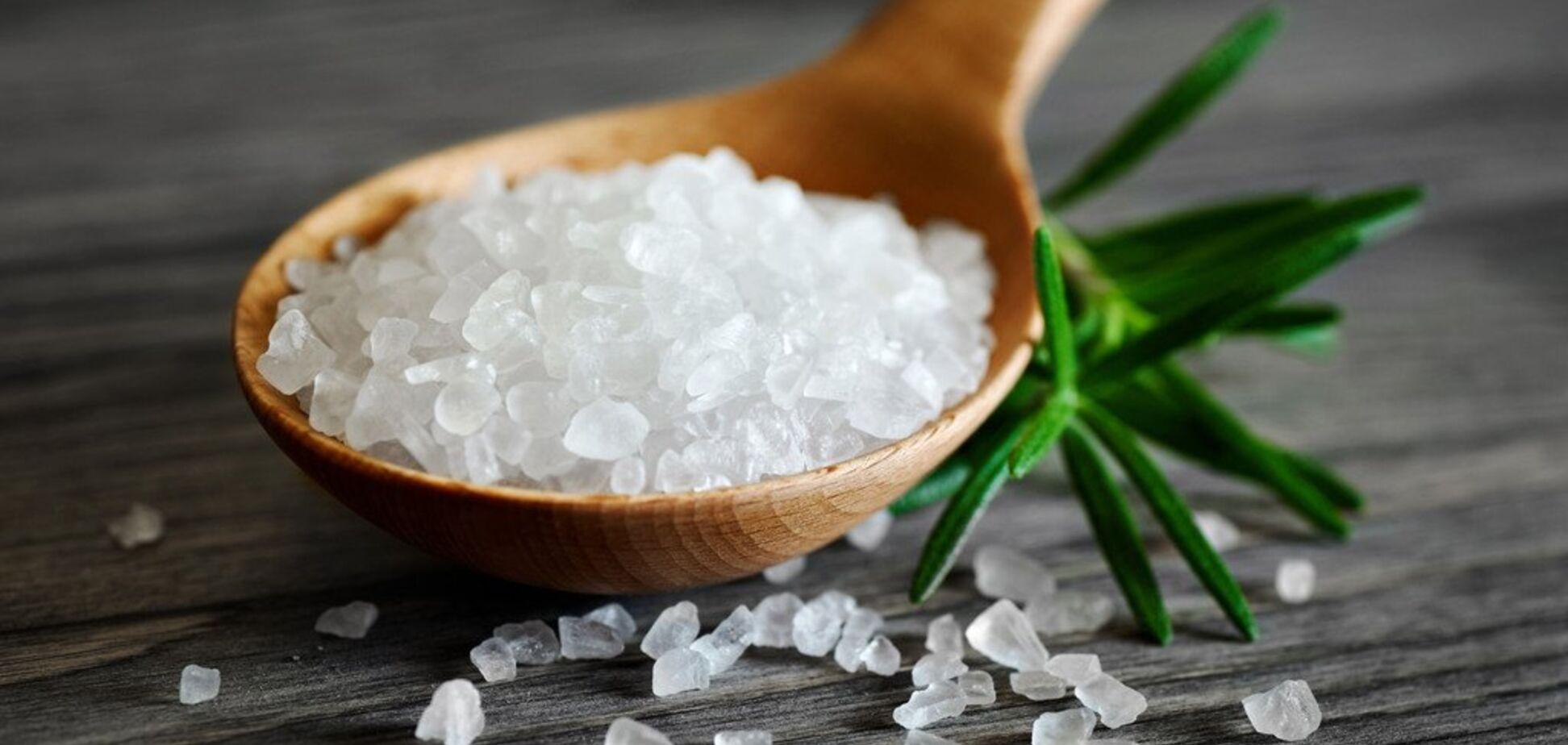 Соль в рационе питания