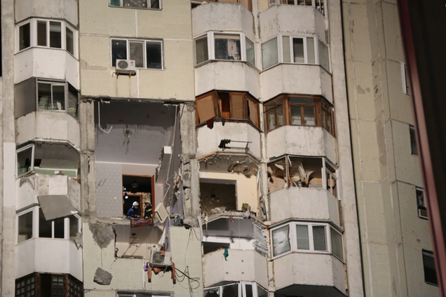 В Молдове прогремел мощный взрыв в многоэтажке