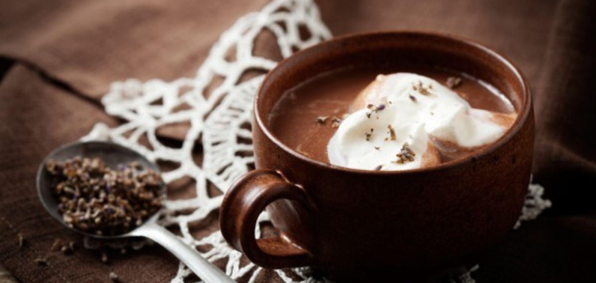 О пользе горячего шоколада. Плюс рецепт.