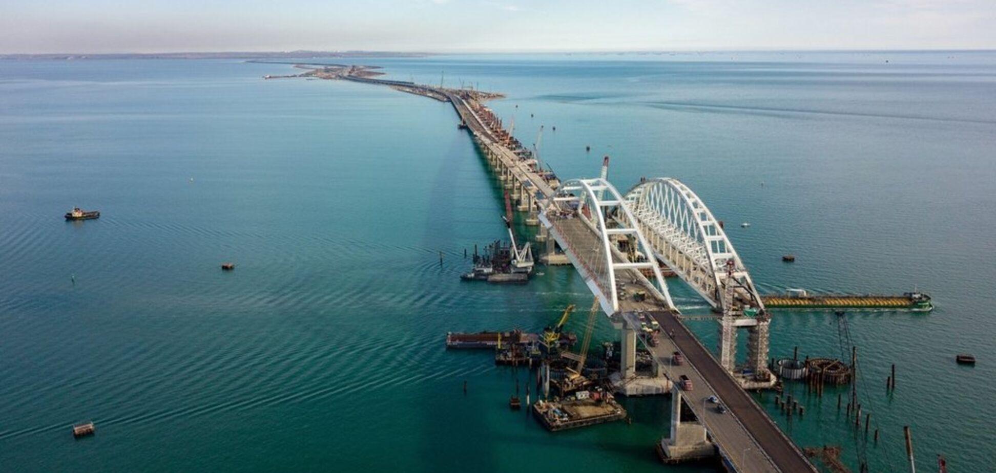 ''Приречений'': Кримському мосту напророкували ''льодовикову'' катастрофу