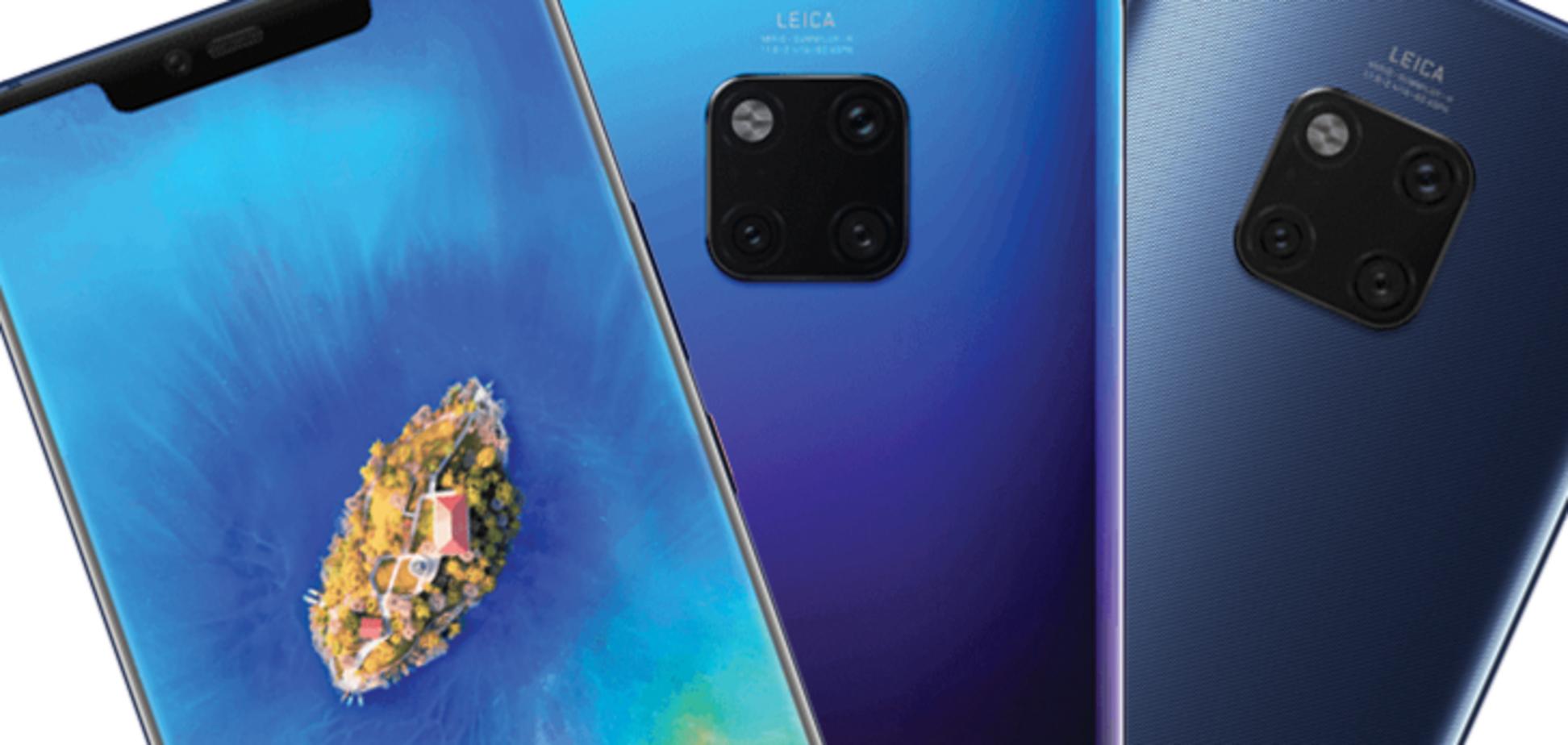 От 20 тысяч: рассекречены цены новых смартфонов от Huawei