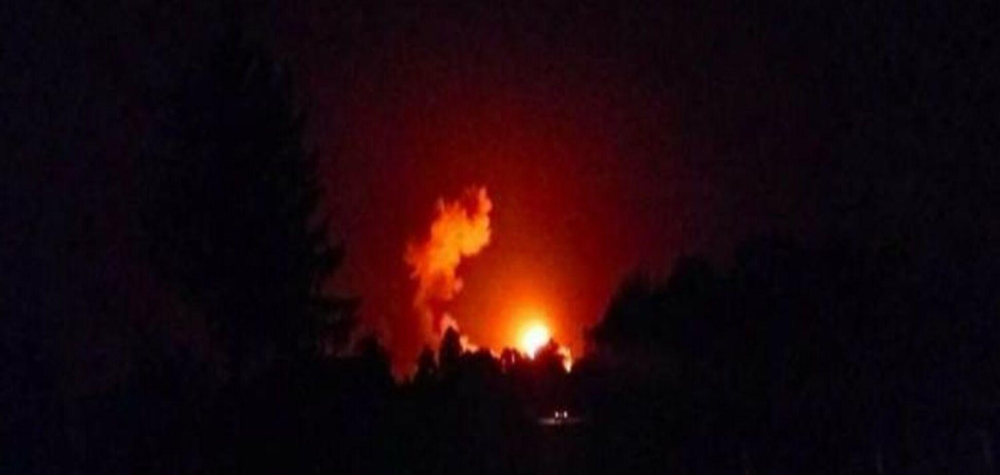 Взрывы боеприпасов в Ичне: появилась первая версия